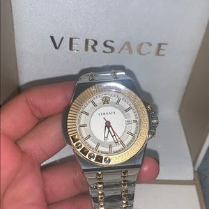 Men Versace watch